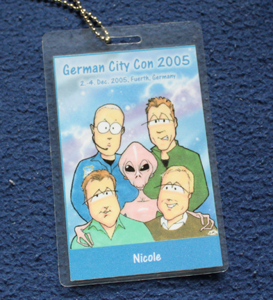 German City Con 2005 - Stargate Convention - System Lord Pass