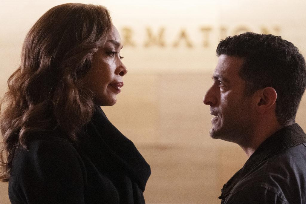 Pearson Staffel 1 - Gina Torres, Simon Kassianides