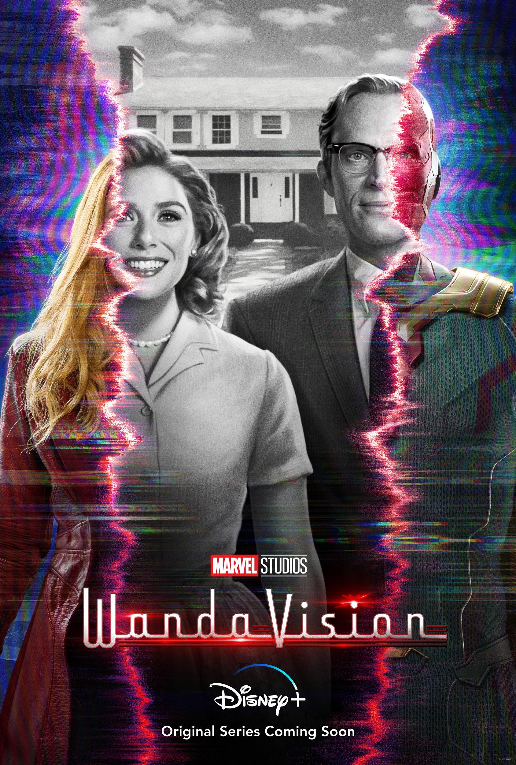 WandaVision - Poster - Elizabeth Olsen - Paul Bettany